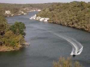 The Glenelg River at Donovans
