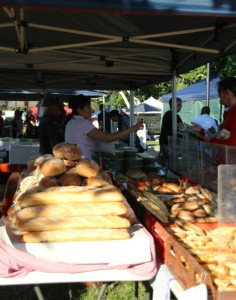 scene from manly market