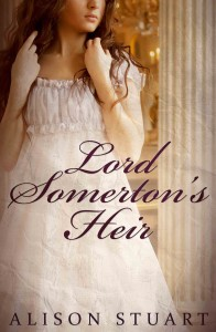 Cover of Lord Somerton's Heir by Alison Stuart