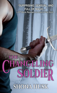 Cover of The Changeling Soldier by Shona Husk