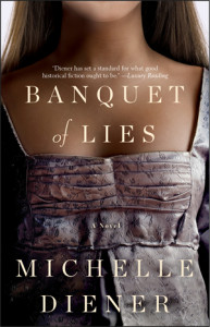 Cover of A Banquet of Lies by Michelle Diener