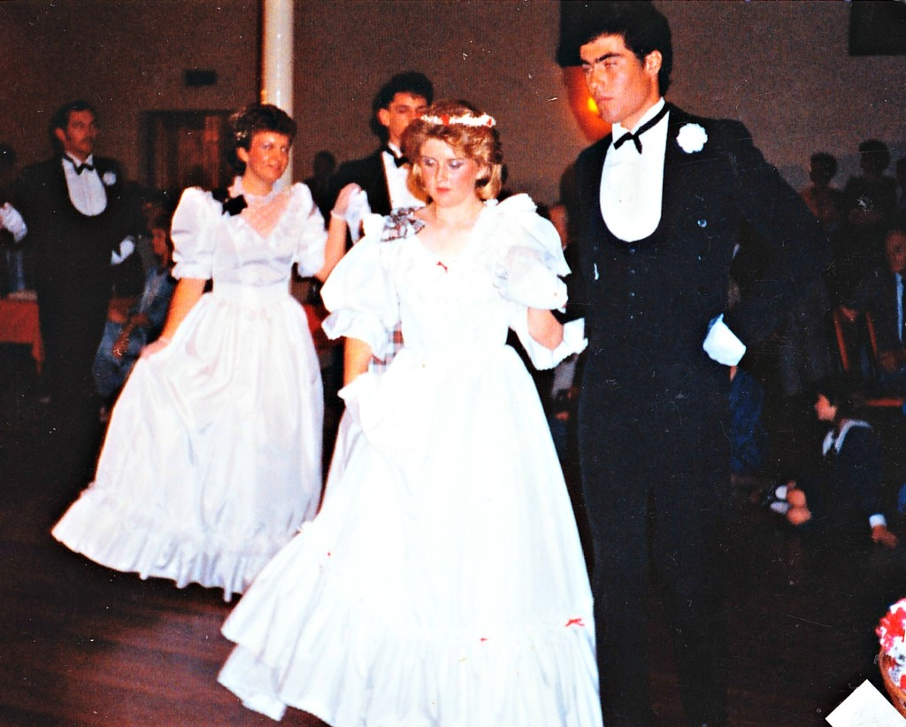 Dancing at my debut