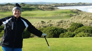 Playing Golf at Port Fairy Golf Links