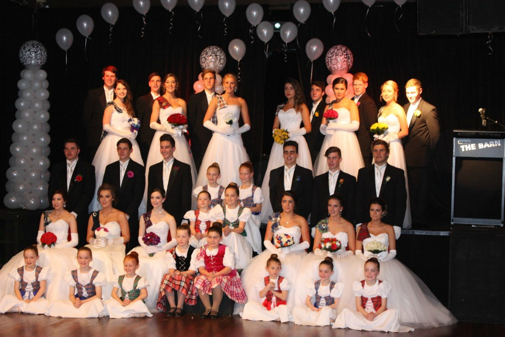 All the debutantes