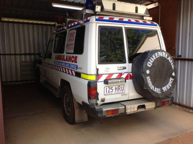 Ambulance at Windorah