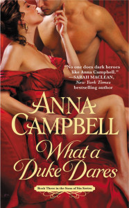 Cover of What a Duke Dares by Anna Campbell