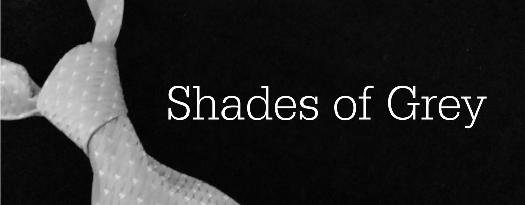 Shades of Grey text