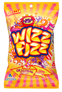 A packet of Wizz Fizz