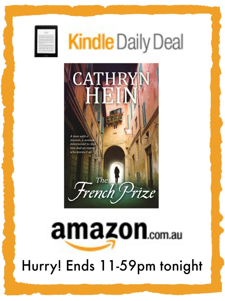 The French Prize is Amazon Kindle's deal of the day