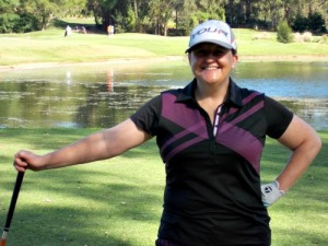 Cathryn ready to golf
