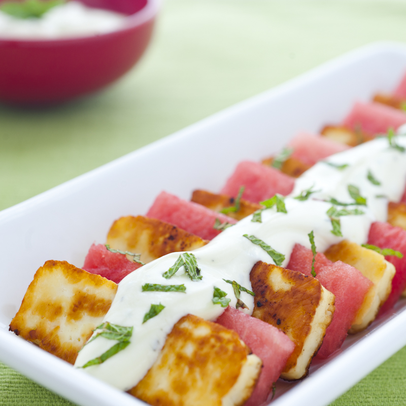 Haloumi and Watermelon Salad from Summer TABLE