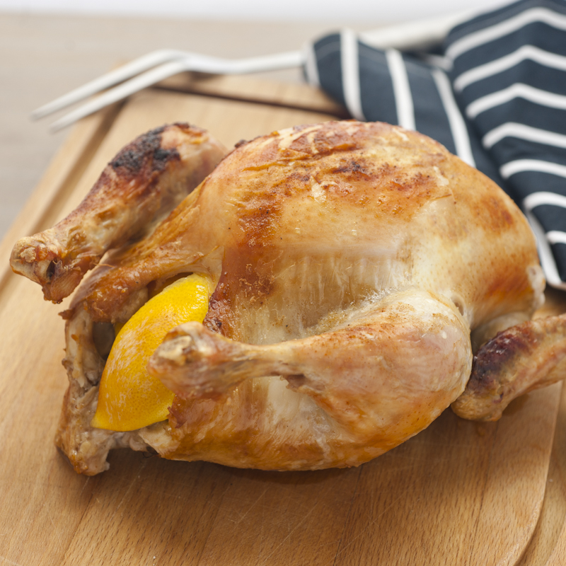 Juicy Roast Chicken from Summer TABLE