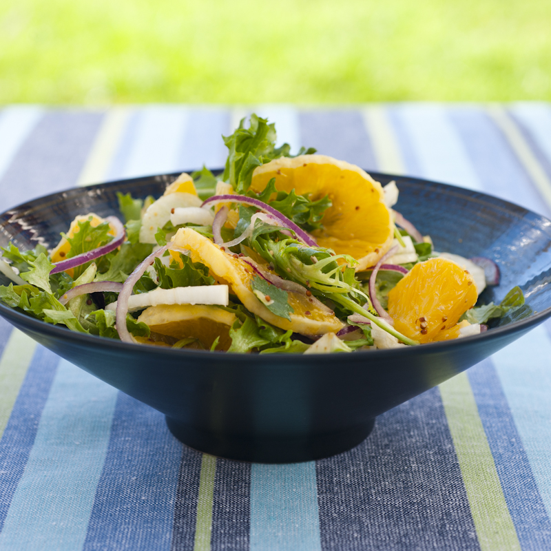 Orange and Fennel Salad from Summer TABLE
