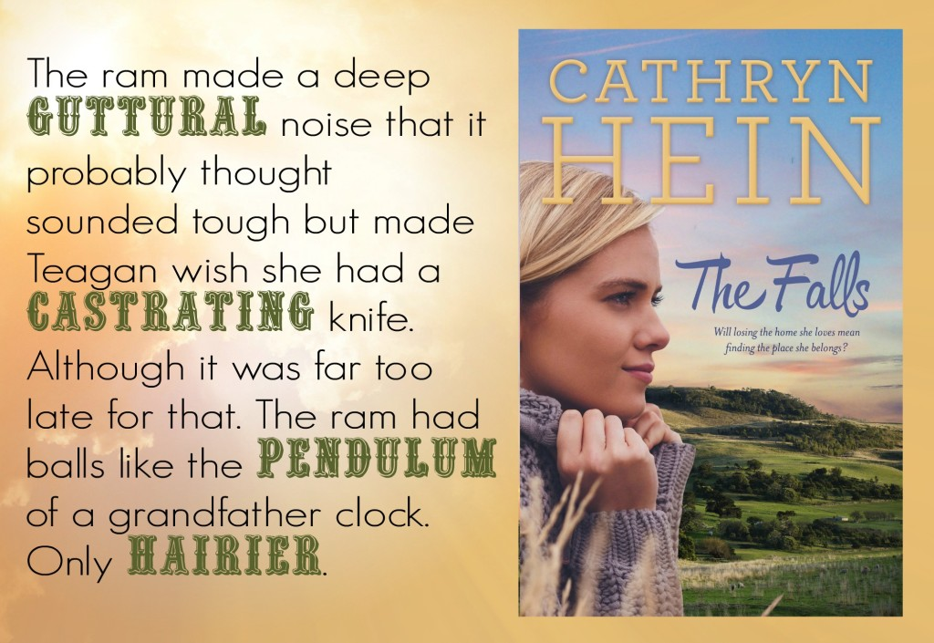 Quote from THE FALLS, a rural romance by Cathryn Hein