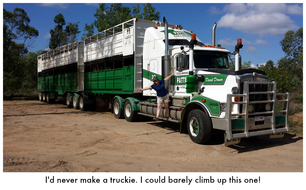 Me on a truck