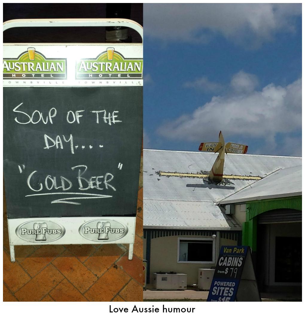 Aussie humour