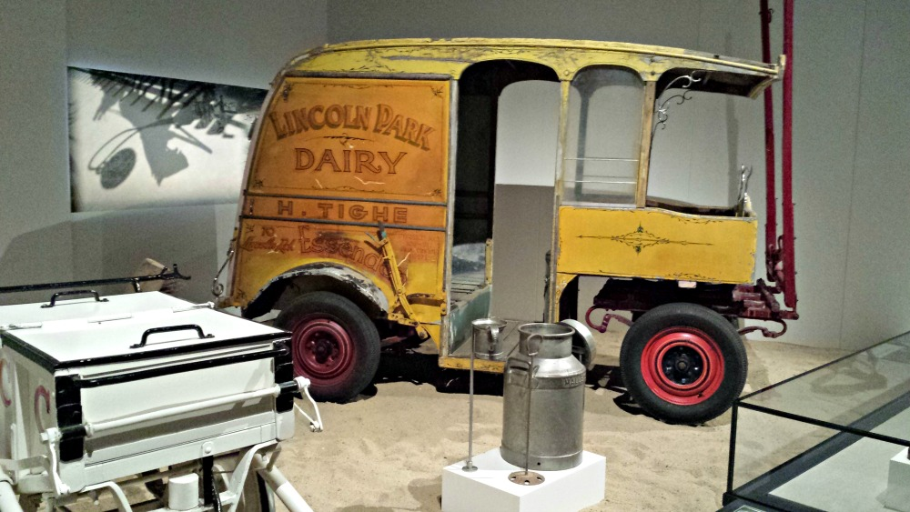 Lincoln Park Dairy delivery cart
