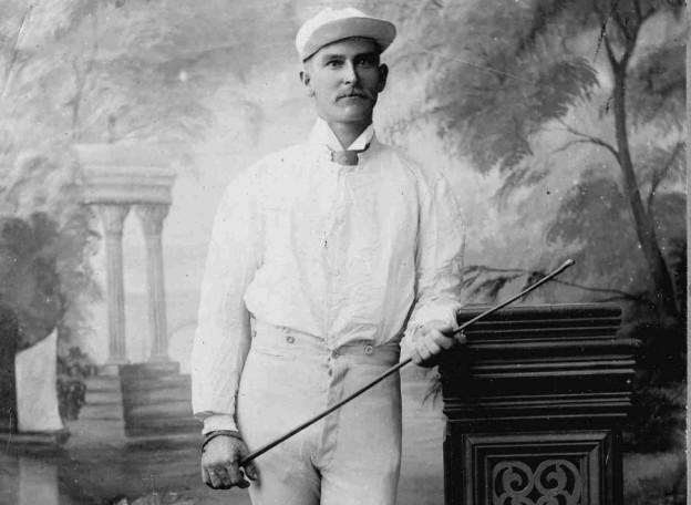 Australian rural romance author Cathryn Hein's great-grandfather Lou Hein, circa 1900