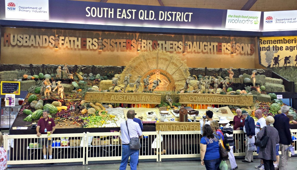 2015 Sydney Royal Easter Show - District Exhibits