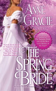 US Cover of The Spring Bride by Anne Gracie