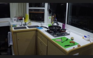The Roobinesque's kitchen