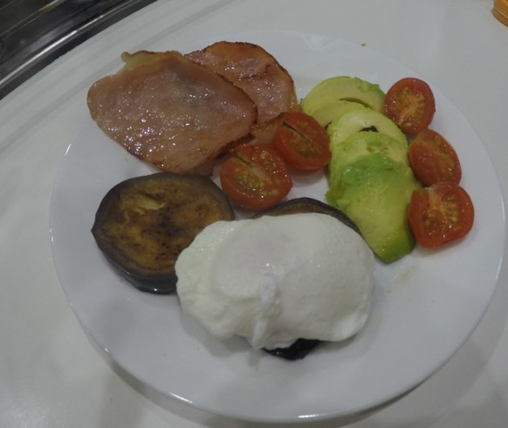 Captain G's last cooked breakfast for author Helene Young