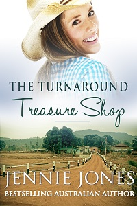 Cover of The Turnaround Treasure Shop by Jennie Jones