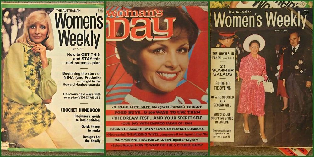 70s womens magazines.
