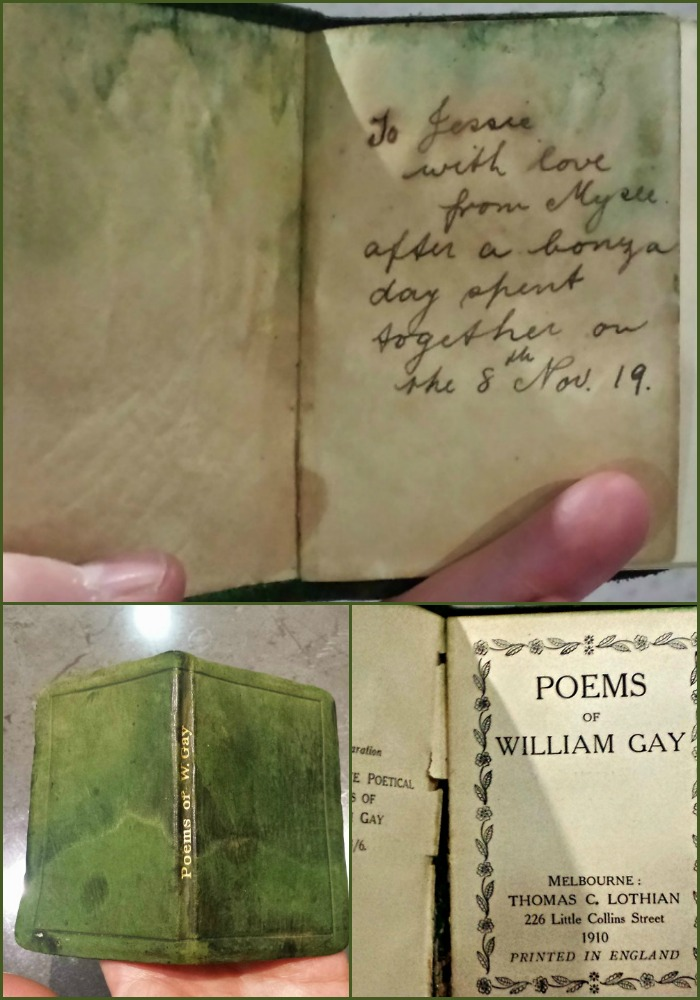 The mystery poetry book.