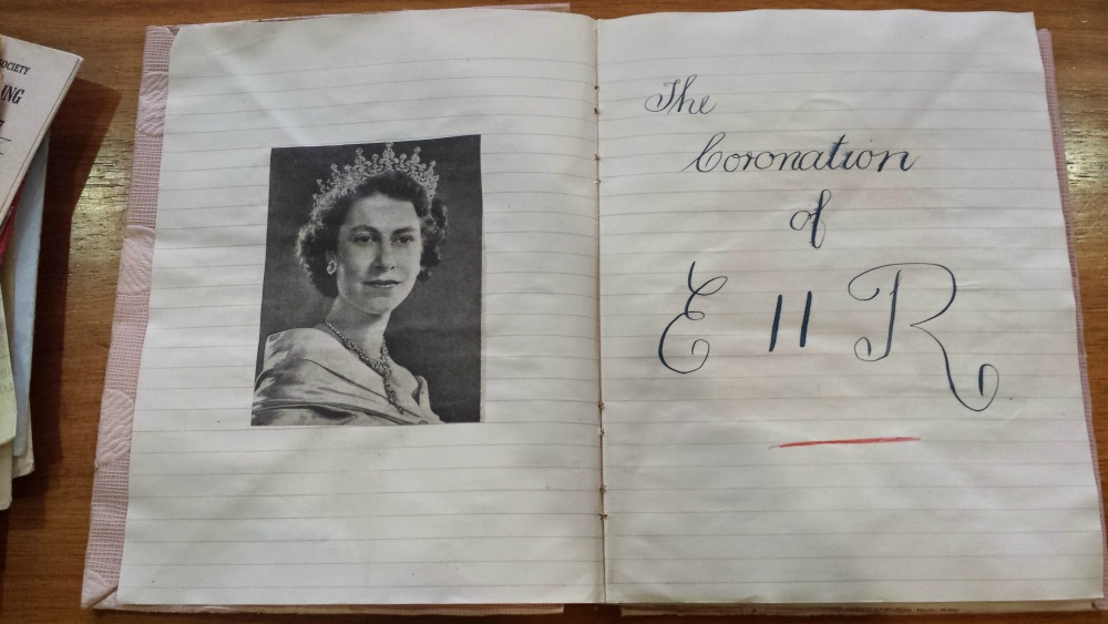 Coronation scrapbook