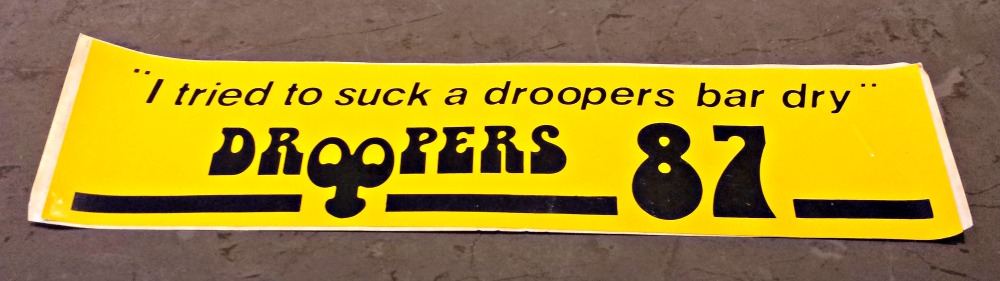 Droopers sticker