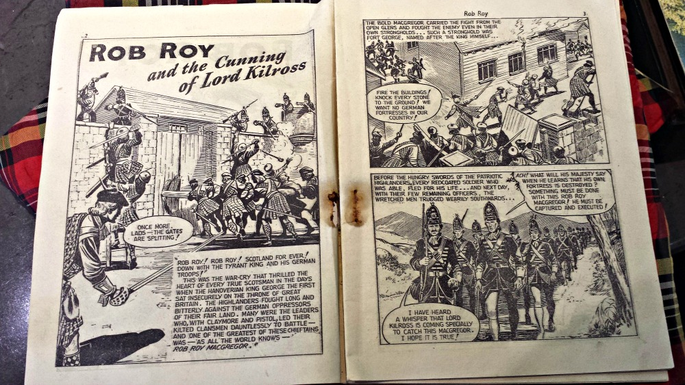 Rob Roy Graphic Novel