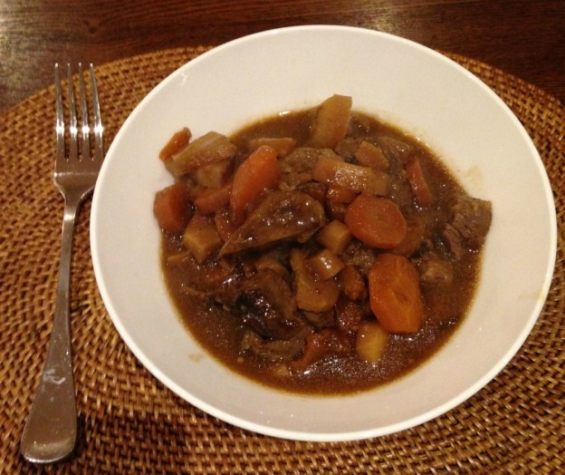 Slow Cooker Beef and Winter Veggie Stew