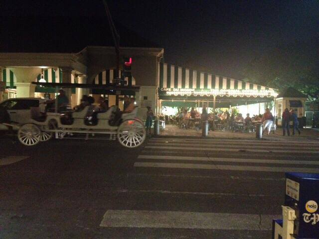 Café du Monde at midnight