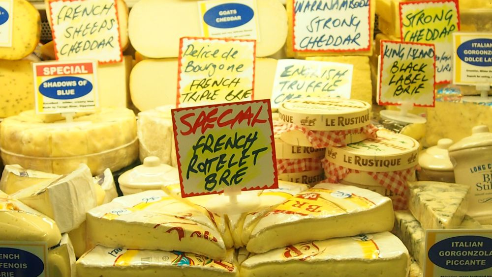 Cheese at Queen Victoria Market