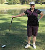 Cathryn Hein golfer!