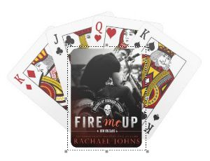 Fire Me Up playing cards