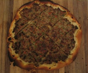 Our version of Lahmacun