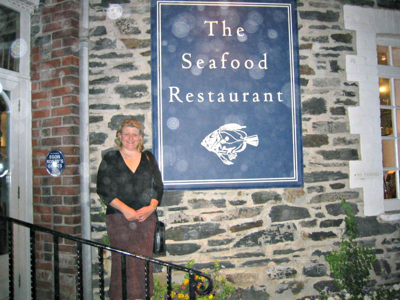 Me at The Seafood Restaurant in Padstow