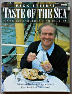 The cover of my copy of Taste of the Sea by Rick Stein