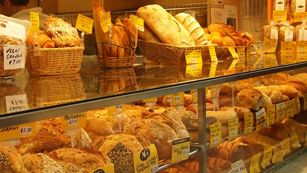 Bread at Queen Victoria Market