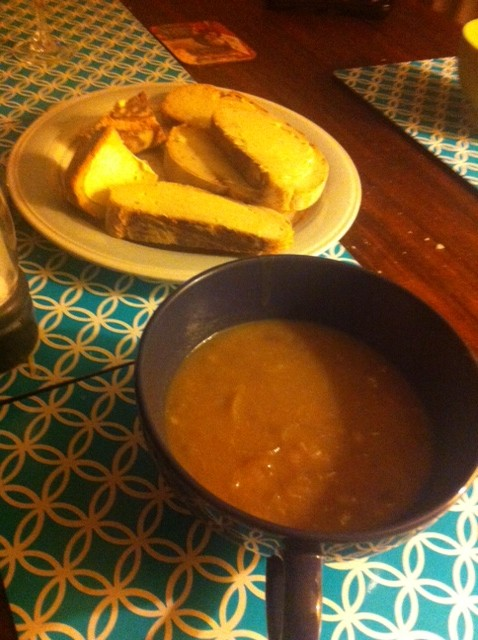 Elizabeth Ellen Carter's French Onion Soup