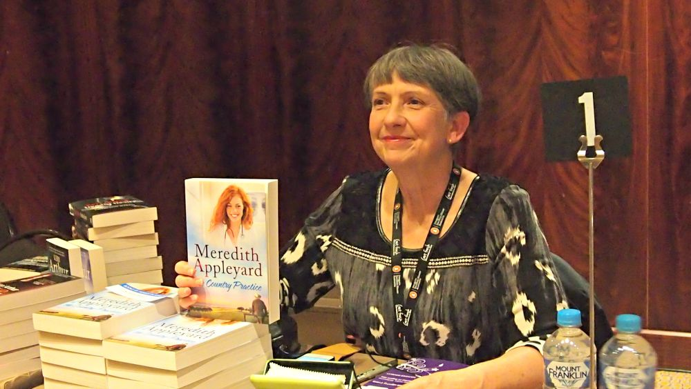 ARRA Booksigning - Meredith Appleyard
