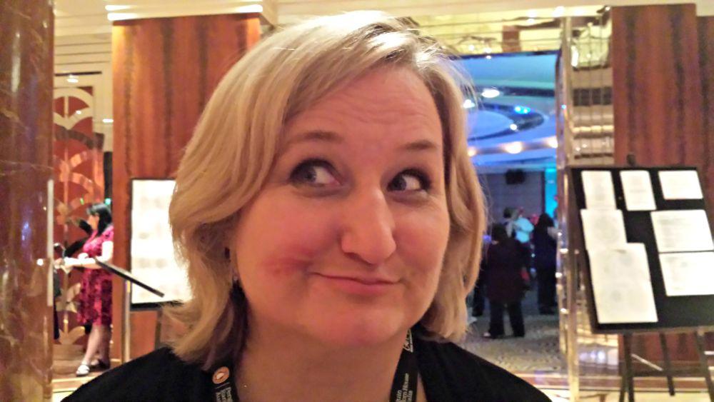 RWA Gala Awards Dinner - Ruby winner Amy Andrews