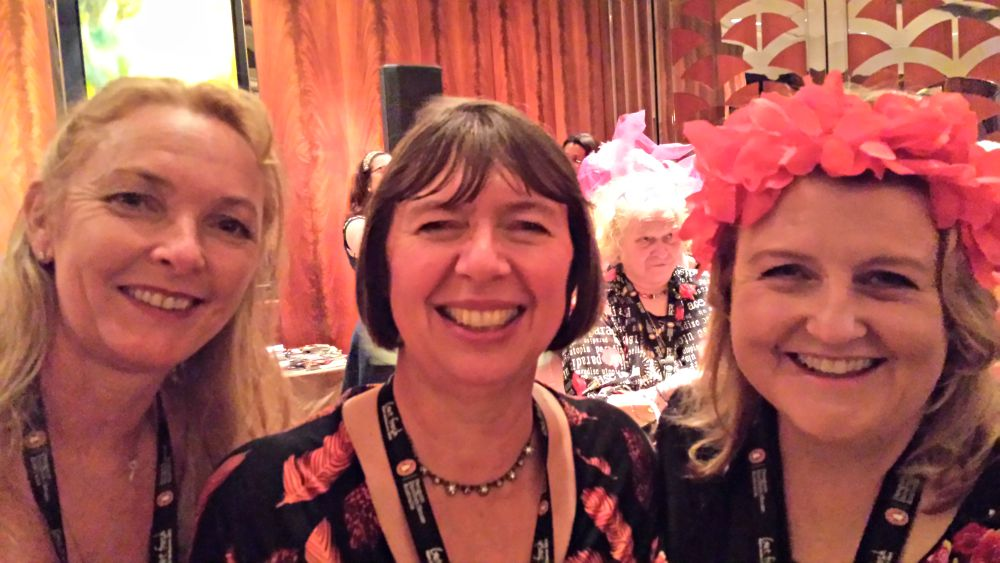 RWA Cocktail Party - Michelle Conder. Annie West and Me