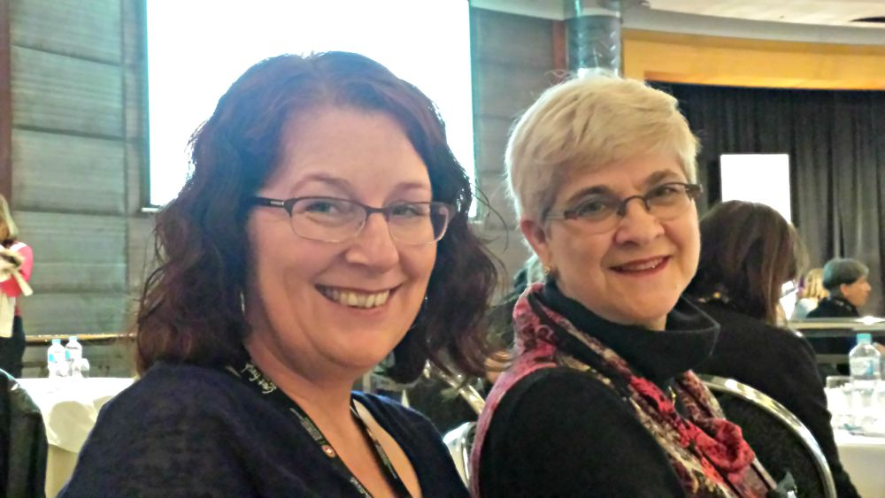 RWA Conference - Michelle Douglas and Denise Rossetti