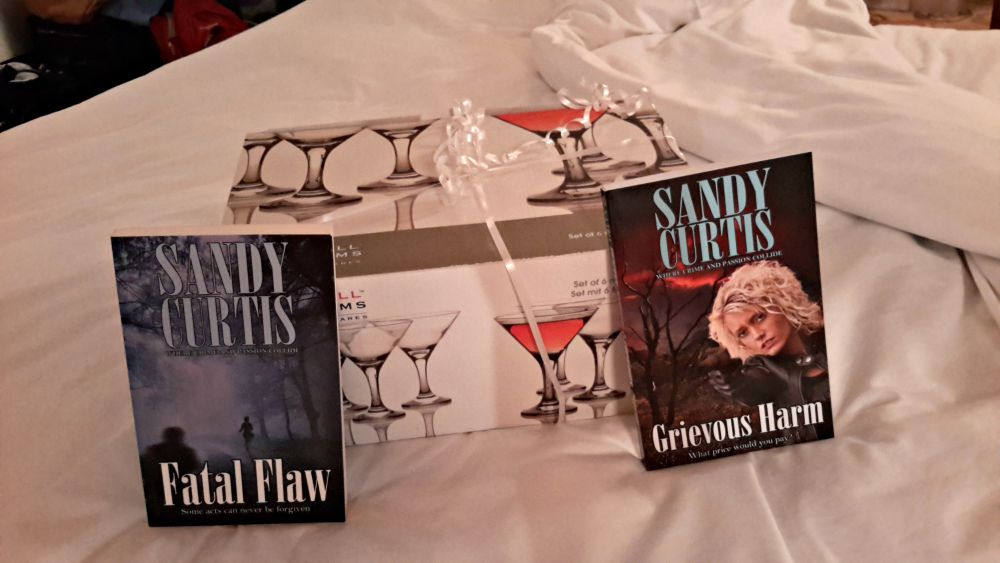 RWA Conference - my raffle prize