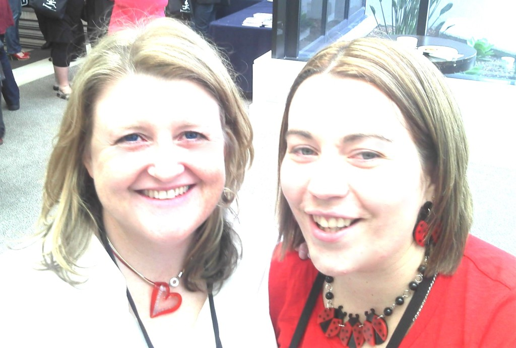 Me and Rachael Johns at the 2012 RWA conference