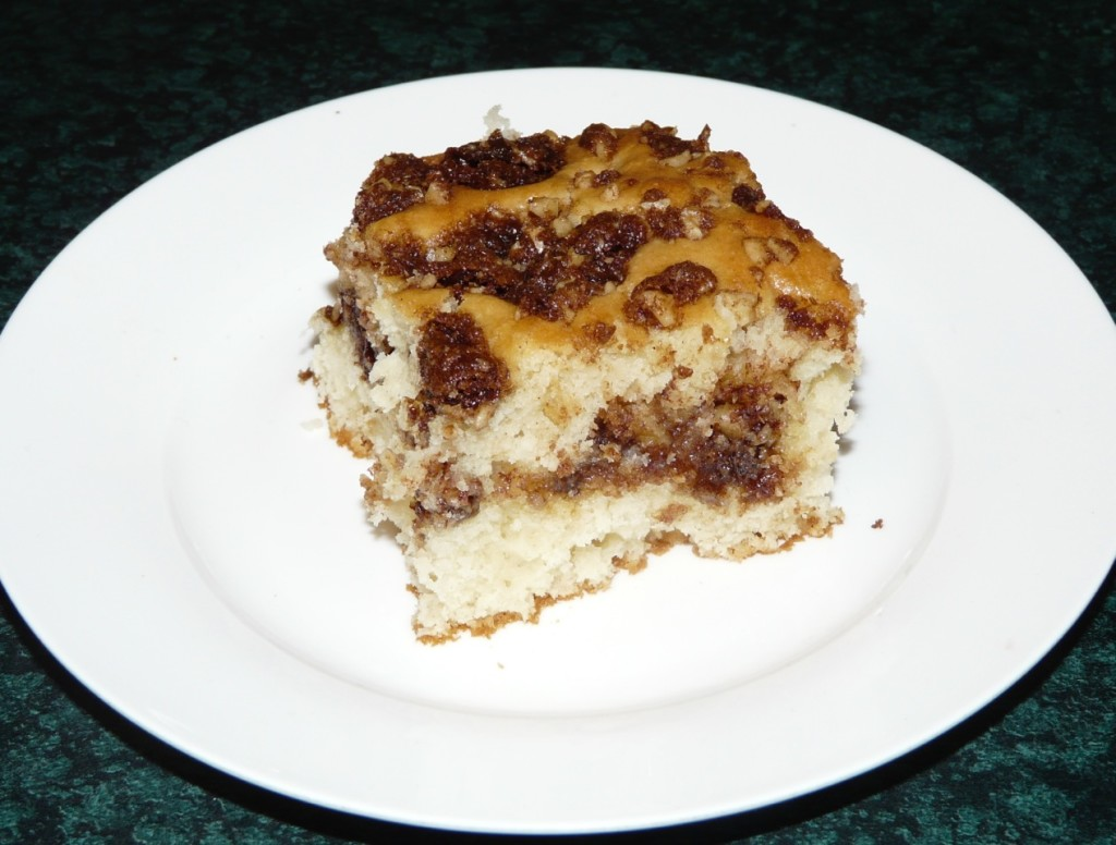 Joan Kilby's Nut Coffee Cake