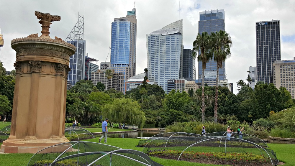 Monument of Lydicrates and Sydney skyline
